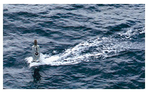 Detection of Submarine Periscopes in High Sea Clutter